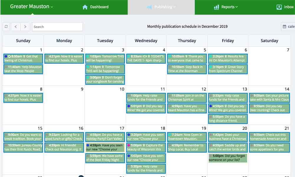 TBC-Social Calendar