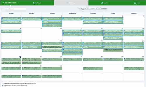 TBC-Social Calendar for mobile
